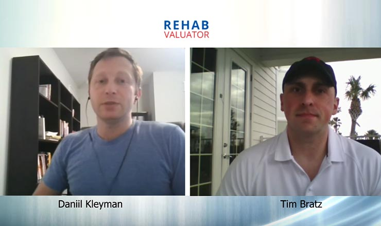 Tim Bratz Discusses Apartment and Multi-Family Investing with Rehab Valuator and Daniil Kleyman