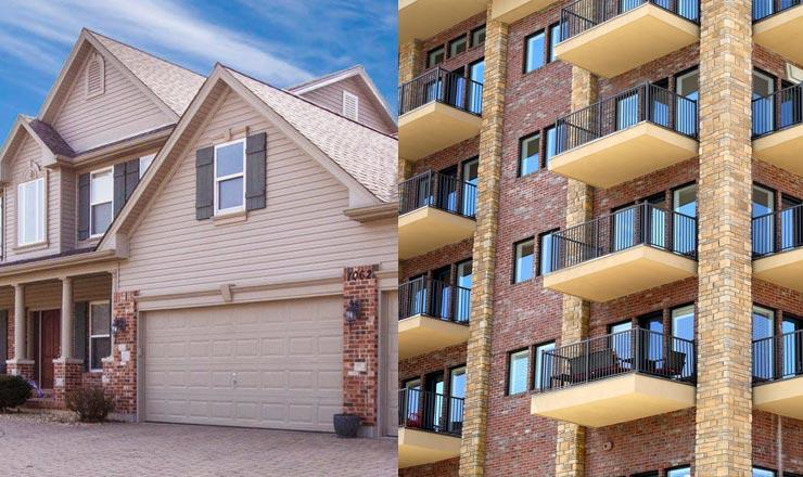 Single Family Homes vs Multi-Family Properties