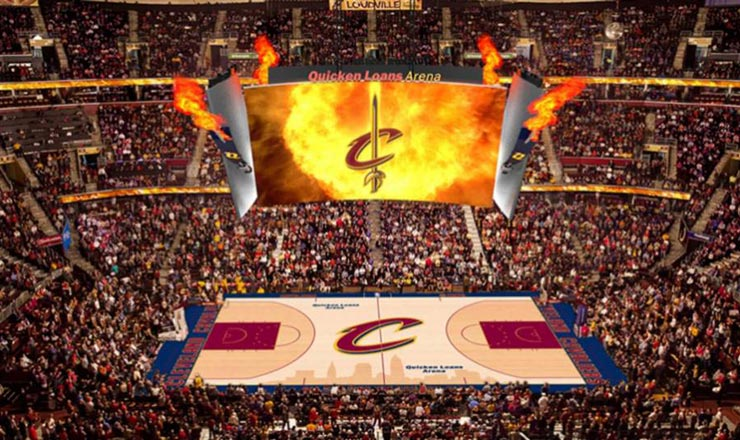 CATEGORIES: NEWS Tim Bratz pays it forward by giving away Cavs suite for game 5 of playoffs