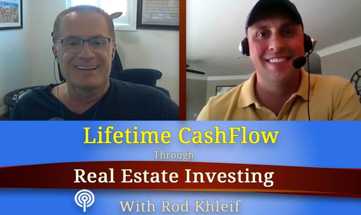 Tim Bratz interviewed on The Lifetime Cash Flow Through Real Estate Investing Podcast